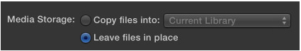 LEAVE FILES IN PLACE